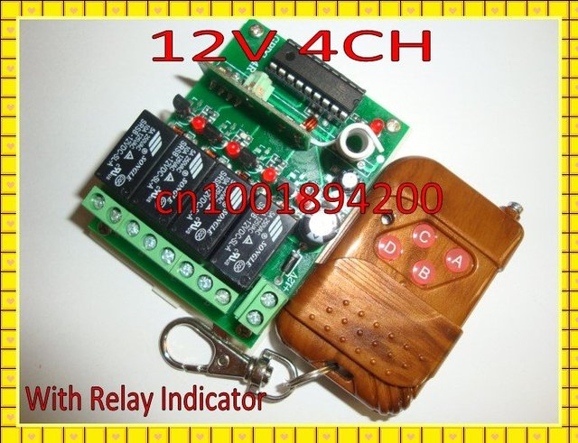 Aliexpresscom Buy V CH Relay Wireless Remote Control Switch - Toggle on off relay