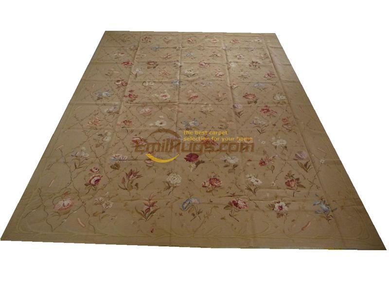 100% laine cousu à la main broderie tapis needleopint tapis 10'X 14' 305 CM X 427 CM gc032 5033f