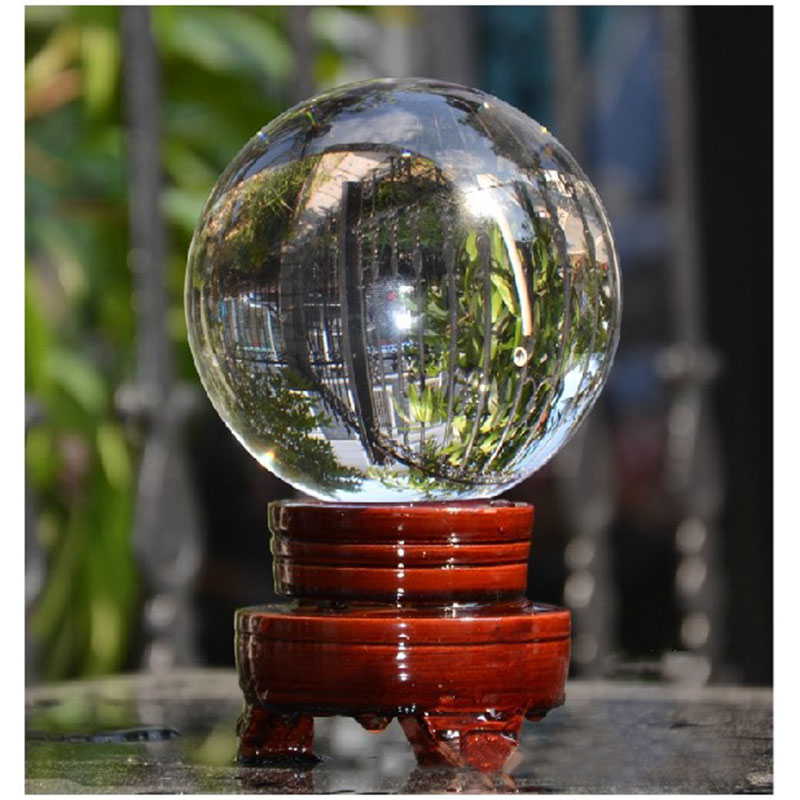 Large Creative Crystal Ball 40mm Wedding Venue Table Decorations