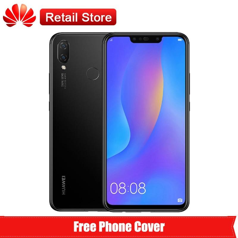 "Huawei P Smart Plus Nova 3i смартфон 4G 6,3 ""полный вид дисплей Kirin 710 Octa Core Android 8,1 двойной AI камеры 3340 мАч телефон"