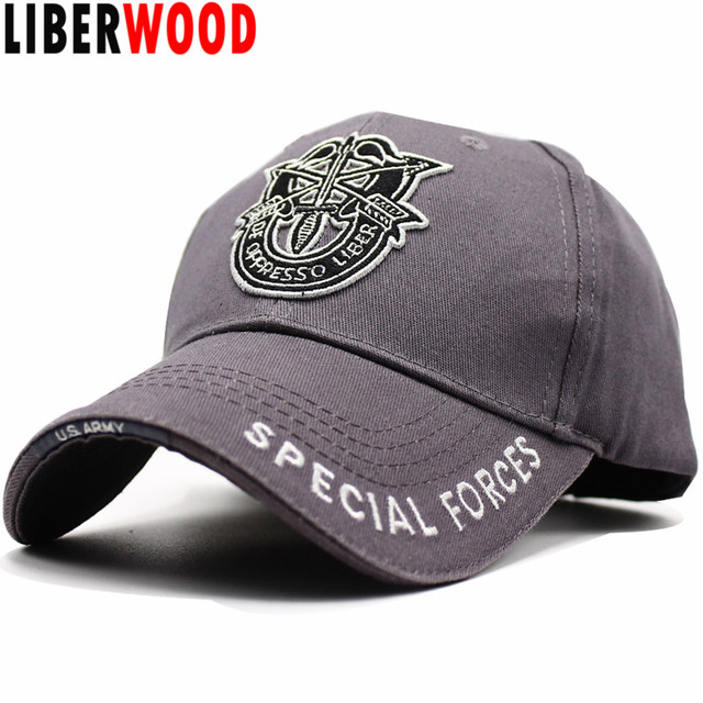 e5627edd102 LIBERWOOD United States US Field army special force cap hat embroidery Arrow