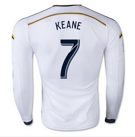 cd03c25a04 Los Angeles Galaxy Soccer 10 Landon Donovan Long Sleeve Jersey LA Galaxy  Football Shirt Long 8