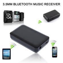 3.5mm Stereo Wireless Bluetooth Receiver A2DP Audio Music Streaming Adapter Home Car AUX Adapter For ipad Headphone Speakers
