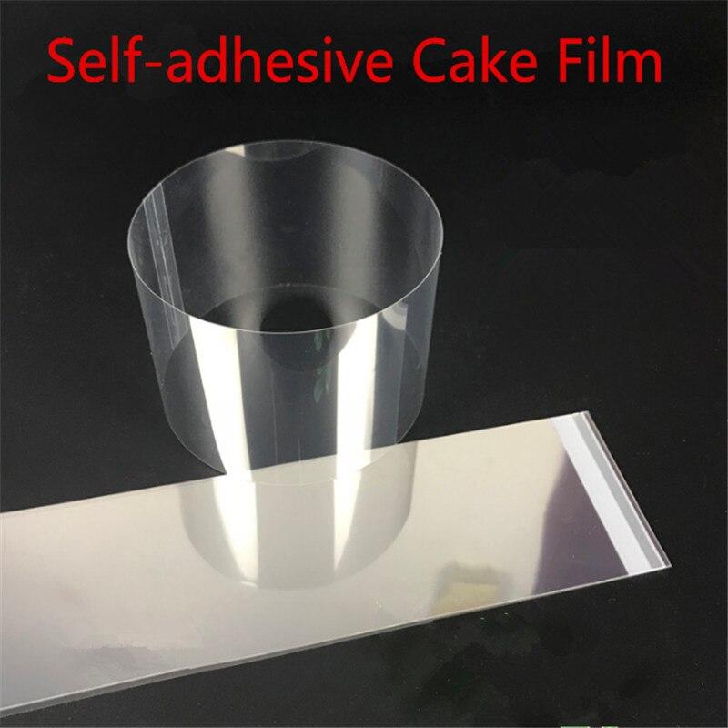 Self-adhesive Cake Food Film Edge Paper Thick Transparent Mousse Transparent Mousse Dessert Surrounding Hard Decorative Film