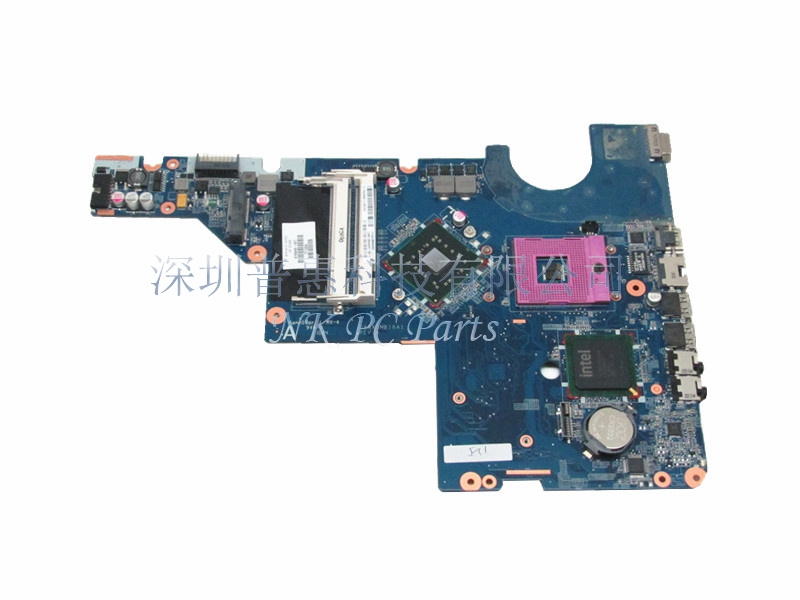 616449-001 Main Board For HP Pavilion G62 CQ62 Laptop Motherboard DAAX3MB16A0 GL40 DDR2 Free CPU 762526 501 main board for hp pavilion 15 p day22amb6e0 laptop motherboard ddr3 am8 cpu
