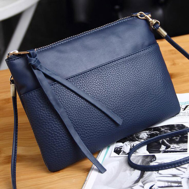 2017 New High Quality Clutch Bag  PU 5 Colors