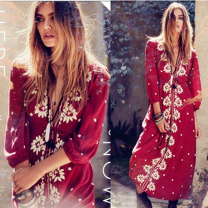 Online Get Cheap Bohemian Long Dress -Aliexpress.com - Alibaba Group
