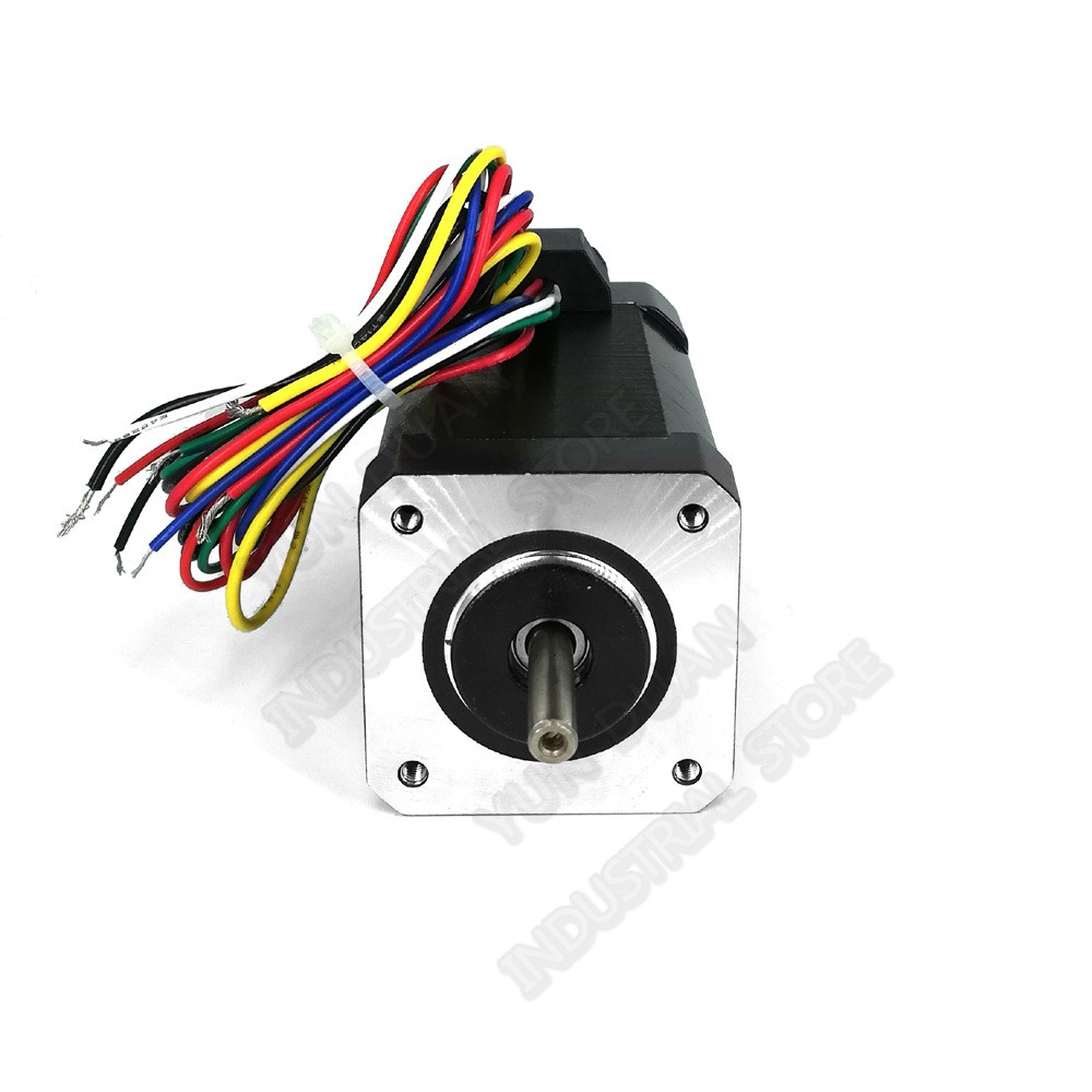 Brushless motor Nema17 30W 0.1Nm 14.3Oz-in DC 24V 42mm high speed 3000rpm Hall sensor 3PH 5mm shaftBrushless motor Nema17 30W 0.1Nm 14.3Oz-in DC 24V 42mm high speed 3000rpm Hall sensor 3PH 5mm shaft