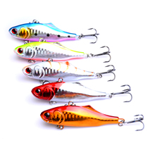 YUZI fishing lure 1pc 23.3g 6.8cm Artificial bait Big game sinking Vibration isca peche pesca tackle