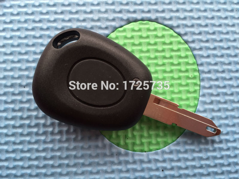 Remote Car Key Case Shell For Renault Megane Scenic Laguna Espace Clio 1 Button Uncut NE73 VAC-102 Blade Replacement Car Cover