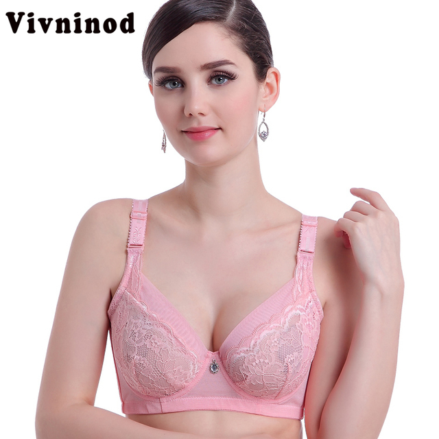 5a07fafb59f77 Full cup thin underwear bra plus size push up adjustable bra breast  reduction cover B C cup