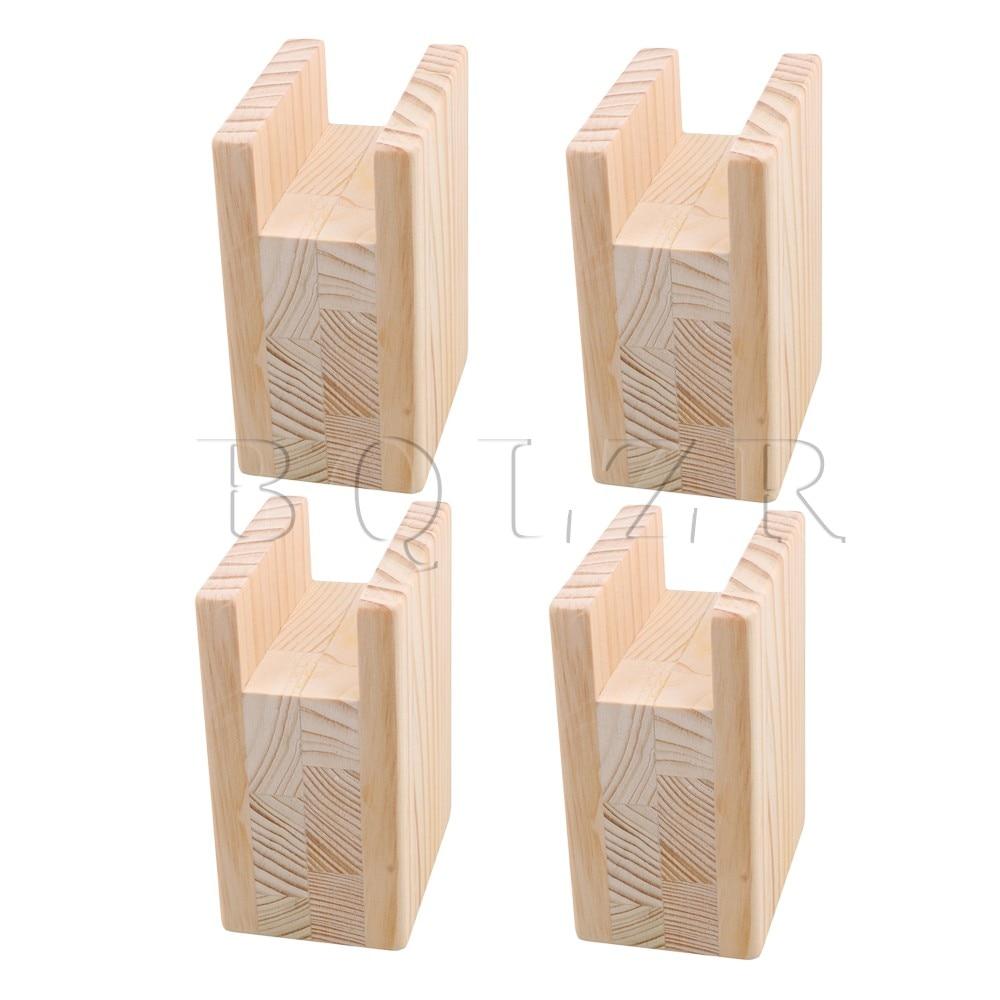 BQLZR 10x7x13.5cm Wood Table…