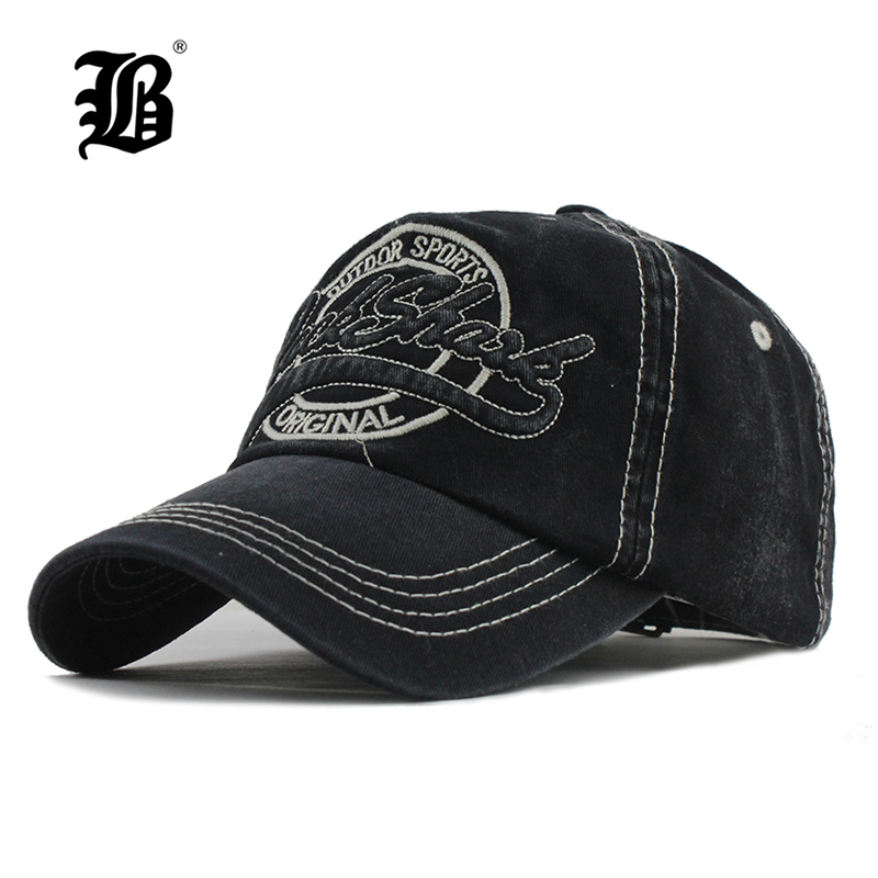[FLB] New Washed Cotton Baseball cap Snapback Hats Autumn Summer Hat for Men Women Caps Casquette hats gorras para hombre F301