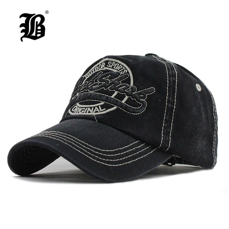 [FLB] nueva gorra de béisbol de algodón lavada Snapback sombreros otoño verano sombrero para hombres mujeres gorras casquetas sombreros gorras para hombre F301