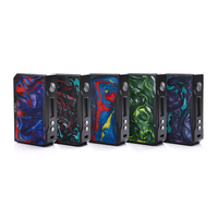 Original VOOPOO DRAG 157W Box Mod Carbon Fiber Version Powered By Dual 18650 Batteries Temperature Control