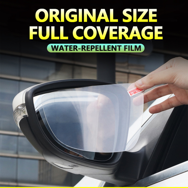 Para Toyota 86 GT86 FT86 Scion FR-S Subaru BRZ 2012-2019 Anti niebla película cubierta espejo retrovisor impermeable Anti-niebla películas Accesorios