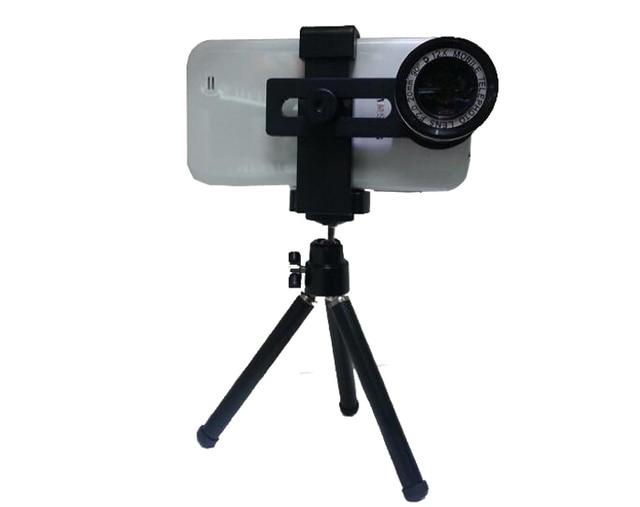 Universal 12x vergrößerung handy zoom teleskop lupe optisches kamera