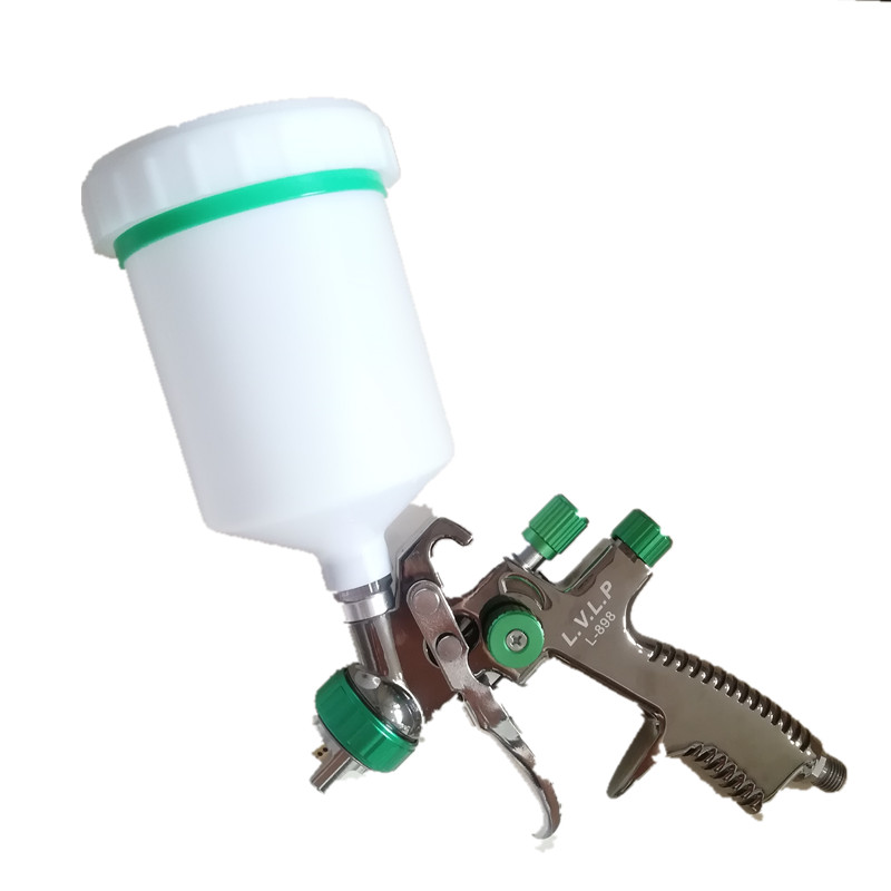 lvlp Wholesale imports of aluminium alloy pneumatic paint spray gun gun 1.3mm high atomizing spray gun L-898 цена