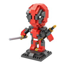 Super X-men Armed Deadpool Minifigures Movies Figures Collection Building Block Action firgion Children Gift Toy