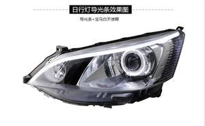 Image 4 - Luz delantera de coche para pantalla de vídeo RHD LHD, faros delanteros NV200 de 2009 a 2014, faro delantero NV200 NV 200 DRL HI LO HID de xenón