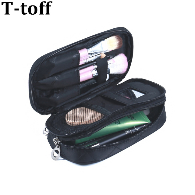 Women Travel Nesesser Toiletry Bag Purse Small Makeup Bag Lady Storage  Brush Organizer Make Up Case Beauty Clutch Cosmetic Bags 166aa25554