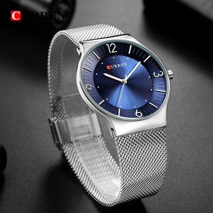 Image 5 - CURREN New Arrival Simple Style Fashion&Casual Business Men Watches Full Steel Quartz Mens Wristwatch Relogio Masculino Relojes
