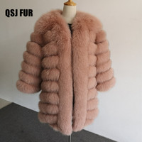 Qiu Shengjia New Fur Coat Fox Fur Warm Fur Female Jacket Wholesale