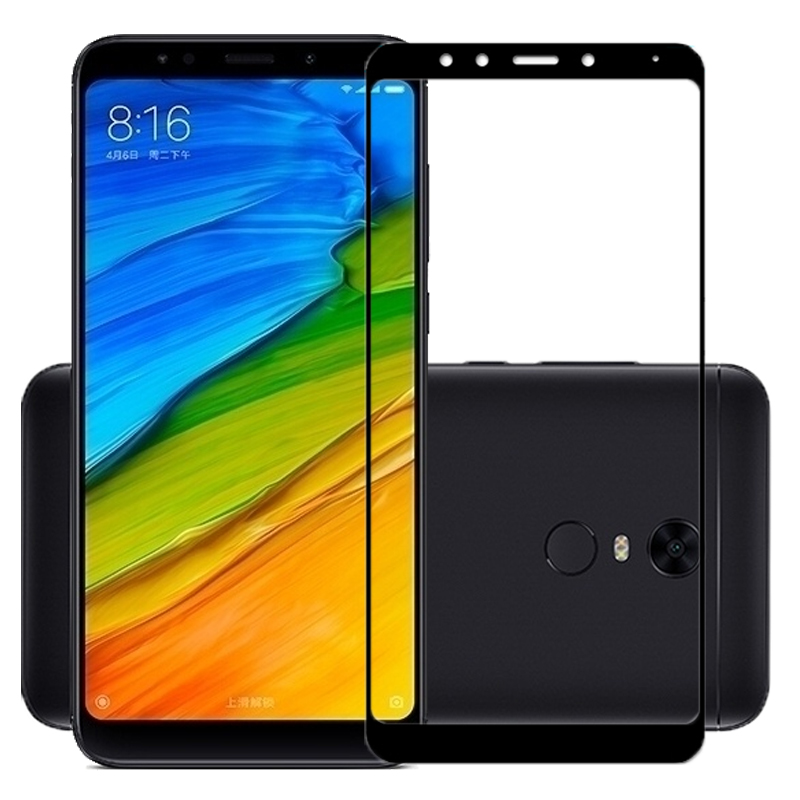 Full screen cover Protective Tempered GLASS For Xiaomi Redmi 5 5 7 inch 9H Screen Protector For Mobile phone Redmi 5 Plus 5 99 quot in Phone Screen Protectors from Cellphones amp Telecommunications
