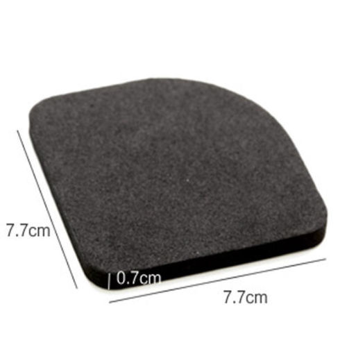 Black Washing Machine Pads Anti Noise Vibration Non Slip Walking Dryers 4Pcs Good protection for electrical appliances 4