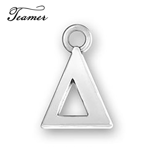 Aliexpress Buy Teamer 20pcslot Greek Alphabet Triangle Charms