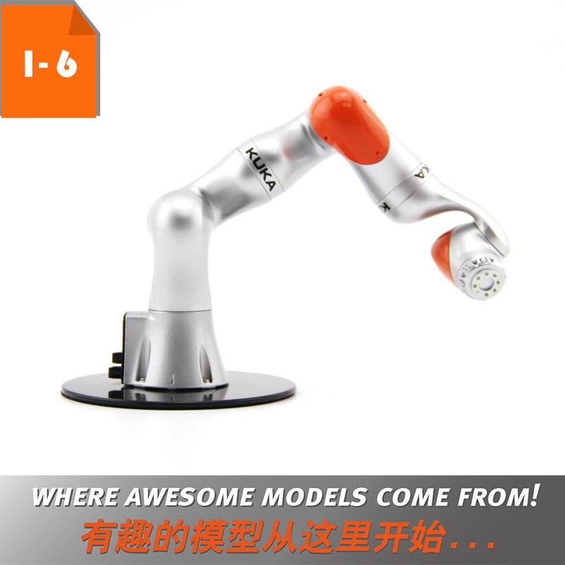 Robot 3D Model Toy Gift 1:6 KUKA LBR iiwa Industrial Robot Model  Manipulator Arm Model Vertical Multiple-Joint for Education
