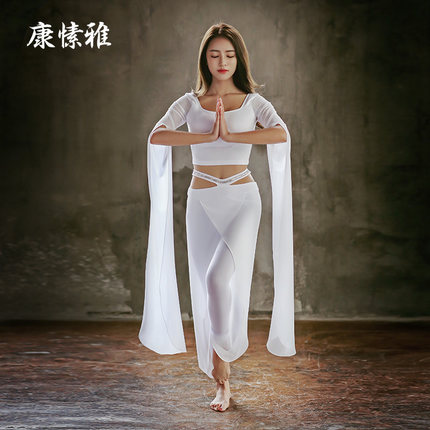KUSA Women Yoga Sets Chinese Style Yoga Wear Suit Lady Soft Breathable Yoga Sets Yoga Tops Pants Top Quality Suit Dropshipping yantra yoga