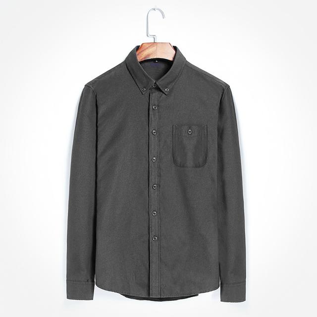 Verano nueva camisa para hombre de color sólido del todo-fósforo camisa masculina camisa de manga larga para hombre DJ296
