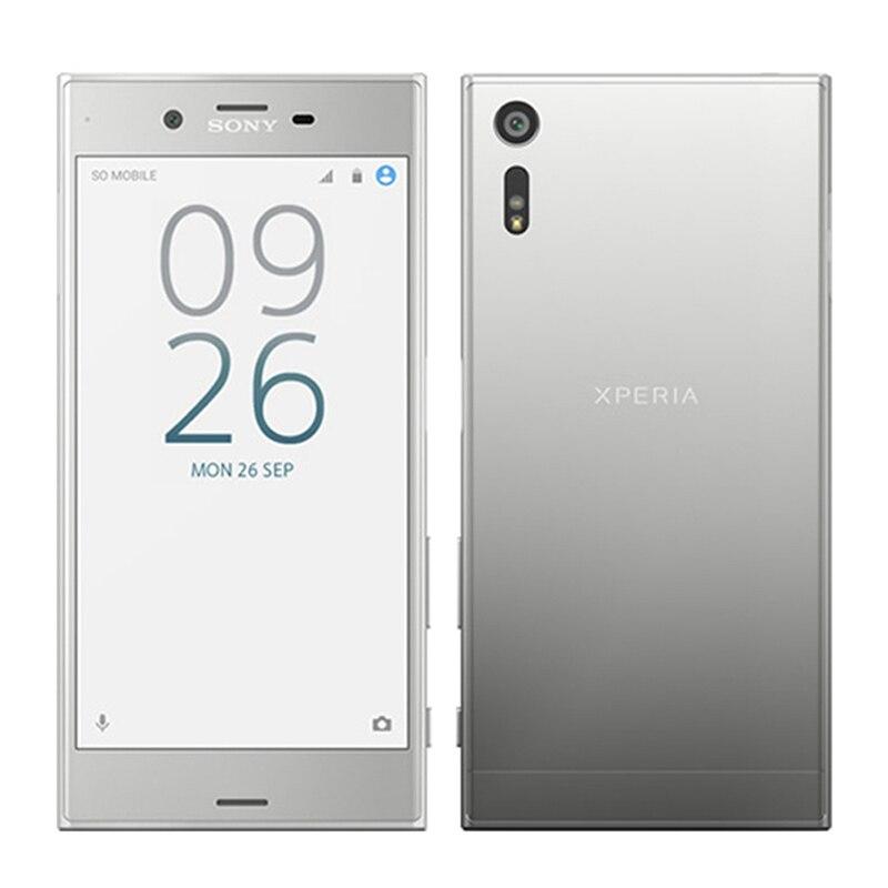 Открыл Sony Xperia XZ F8331/F8332 мобильного телефона 8-ядерный Snapdragon 820 4 г LTE 23MP 32 ГБ Встроенная память 3 ГБ Оперативная память 2900 мАч смартфон
