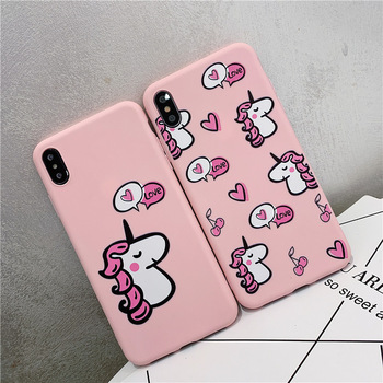 Cute Pink Unicorn Phone Case