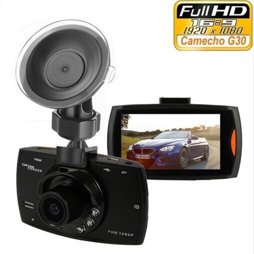 """imágenes para Marca G30 Coche Cámara Full HD 1080 P 2.7 """"registrador del coche dvr + motion night vision detección g-sensor 32 gb dvr dash cam cuadro negro"""