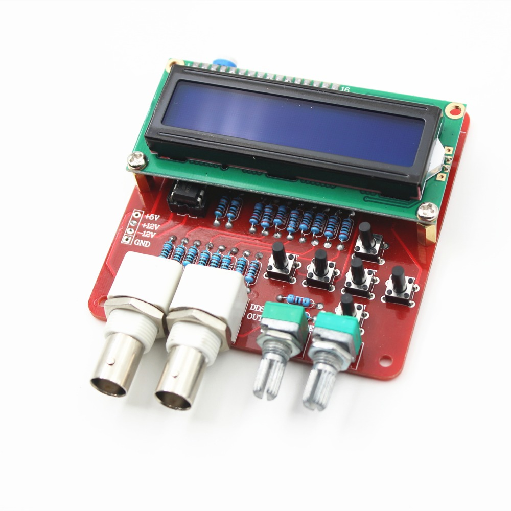 DDS Function Signal Generator DIY Kit Frequency Generator Square Sawtooth Triangle Wave DIY Parts Signal Source Components electronic component