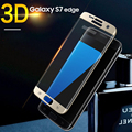 Protective glass on for samsung s7 Tempered Glass New 3D Full Cover Screen Protector S7 Edge Safety Protective Film