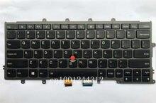 Oryginalny dla lenovo IBM Thinkpad X240 X240S X250 X260 X270 podświetlana klawiatura do laptopa-90% nowy