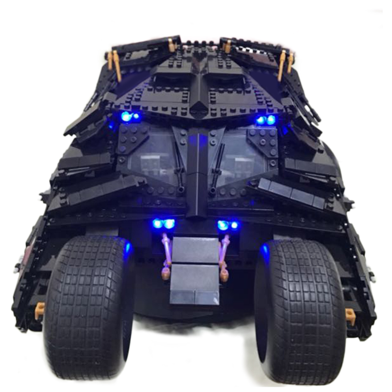 Led Light Set For Lego 76023 7111 super heroes Batman The Tumbler batmobile Blocks technic Building bricks Toys For Children new 765pcs sy327 super heroes assemble the avengers building bricks blocks set education toys for children minifigure page 6