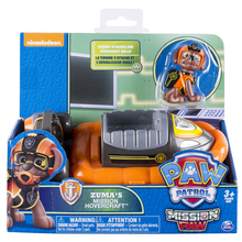 Original Nickelodeon Paw Patrol Zuma's Mission Hovercraft Spin Master Mission Paw Vehicle Toy Anime Action Figure Toys Kids Gift spin master nickelodeon paw patrol 16721 спасательный ровер маршалла