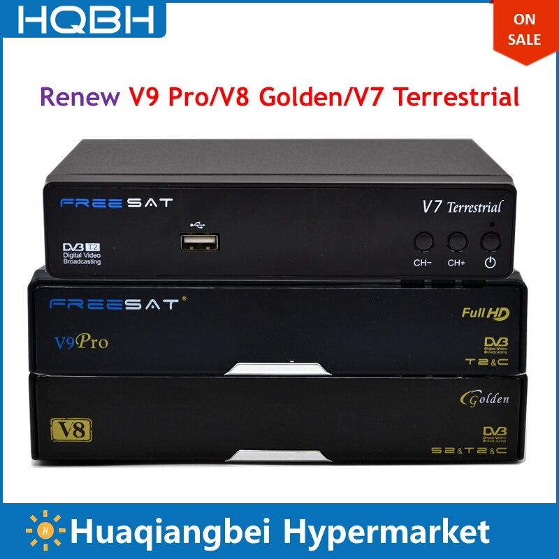 Возобновить ежегодно V9 Pro V8 Золотой V7 наземного ТВ Декодер каналов кабельного телевидения для Сингапур