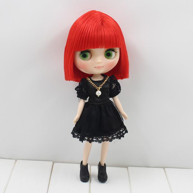 ICY Middie Blythe Кукла Серые волосы 20cm