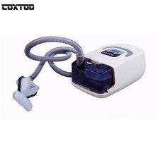 Coxtod GI CPAP Портативный CPAP машины респиратор для апноэ сна osahs СОАС храпа люди w/носа маски, головные уборы трубки сумка