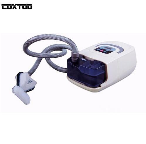 COXTOD GI CPAP Portable CPAP Machine Respirator for Sleep Apnea OSAHS OSAS Snoring People W/ Nasal Mask Headgear Tube Bag