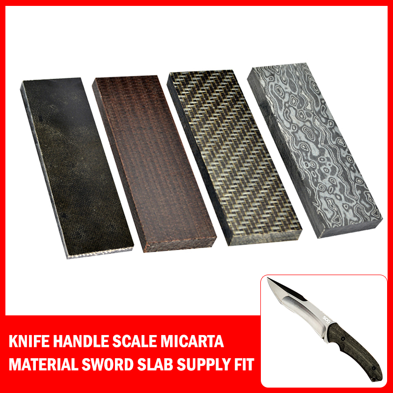 2019 New Knife Handle Scale Micarta Material Sword Slab Supply Fit DIY Knife Making Handle Wood Hand Tools Accessoires 4 Colors