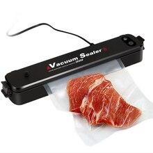 Food Vacuum Sealer Kitchen Food Fruit Vacuum Sealer Machine Home Vacuum Sealers vakum makinesi EU/US/UK Plug цена и фото