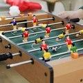 12 Деревянный настольный футбол бар, развлечения, Настольный Футбол игровой стол детей домой взаимодействия родитель-ребенок игра, малыш подарки