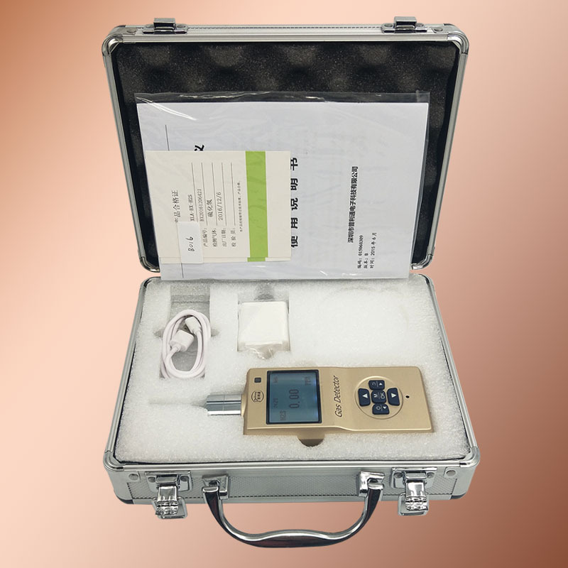 XLA-BX-O3 Portable O3 testeur moniteur d'ozone numérique avec coque entièrement métallique détecteur de gaz de qualité haut de gamme moniteur de fuite de gaz précision