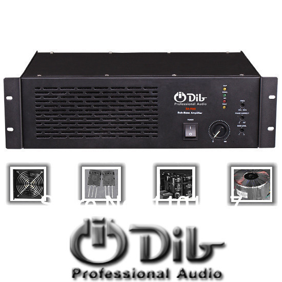dib ba 900 bass power amplifier hifi exquis single channel professional subwoofer amp in. Black Bedroom Furniture Sets. Home Design Ideas